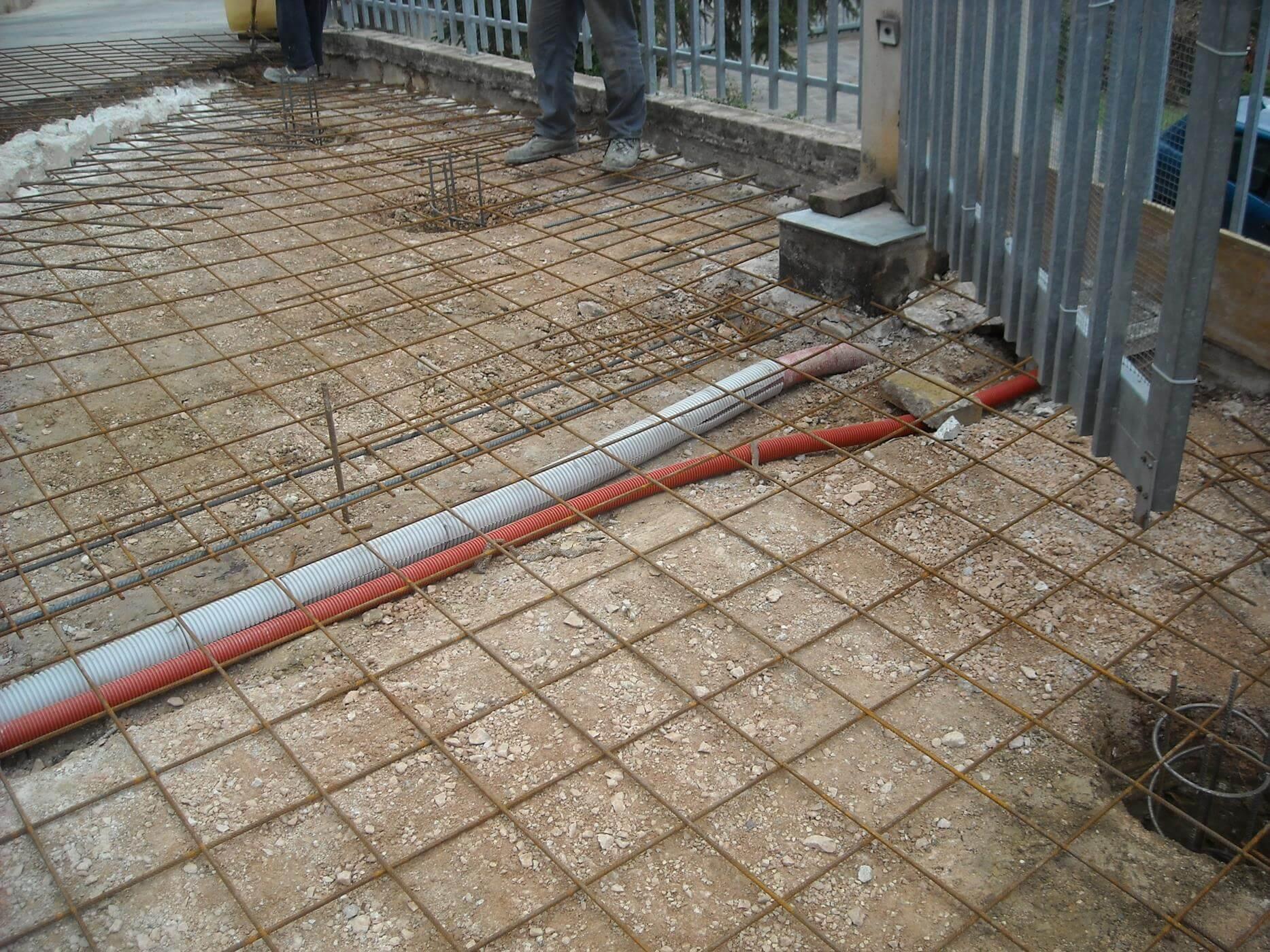 Realizzazione gettata in cemento armato contigiani e for Cemento armato cile