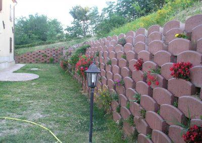 muro fiorito
