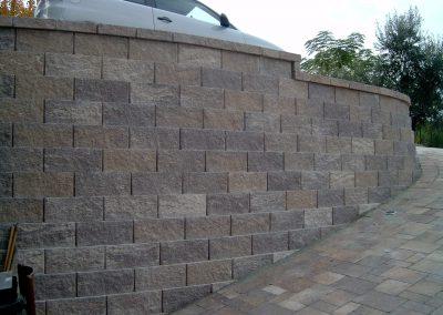 muro splittato