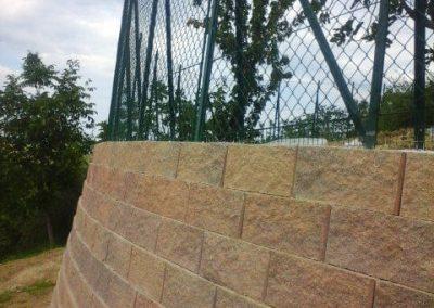 muro a blocchi